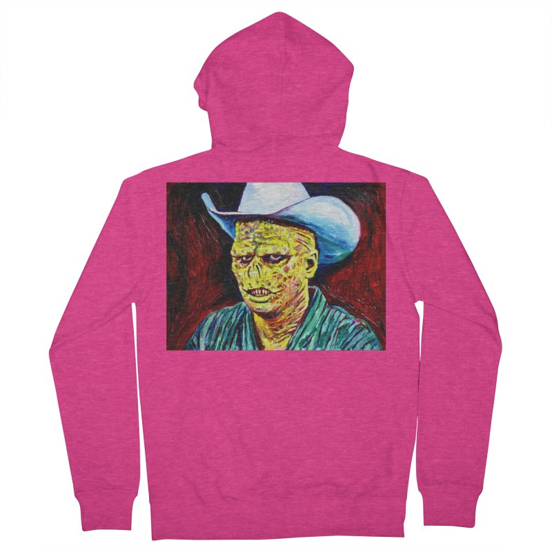nobody Women's French Terry Zip-Up Hoody by paintings by Seamus Wray