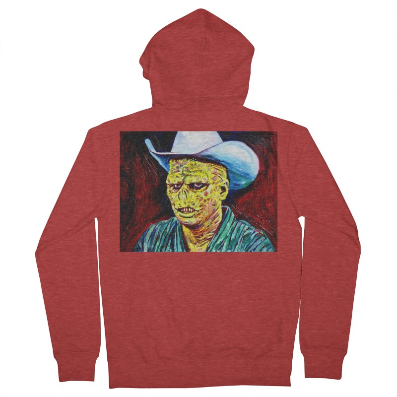 nobody Men's French Terry Zip-Up Hoody by paintings by Seamus Wray