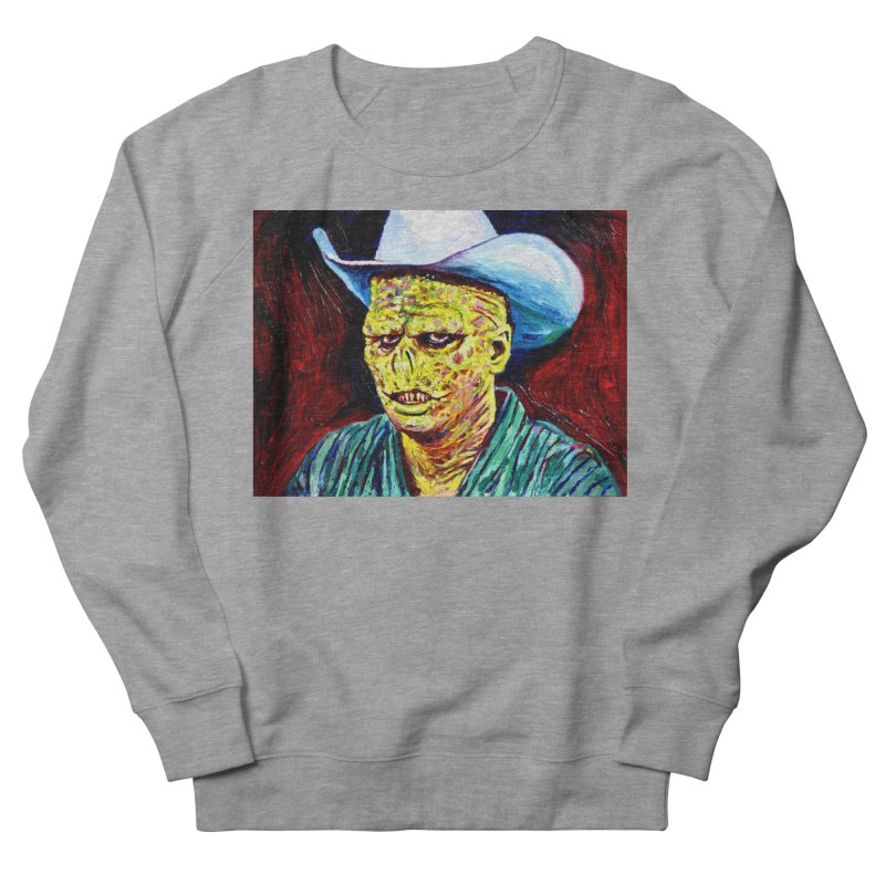 nobody Men's French Terry Sweatshirt by paintings by Seamus Wray