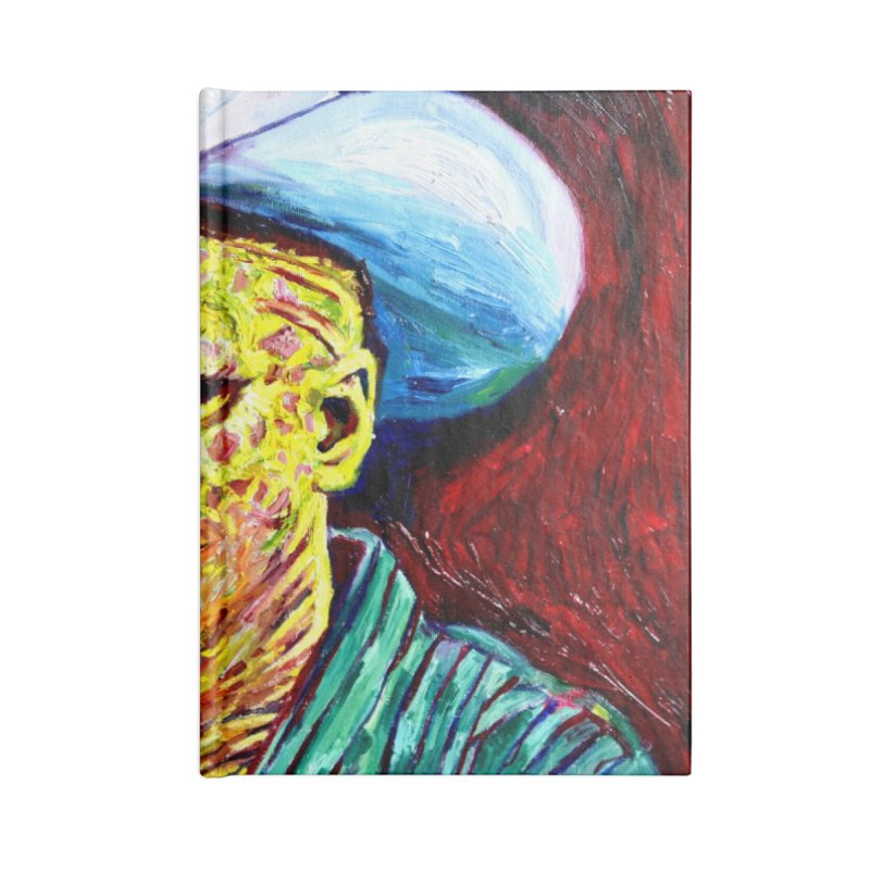 nobody Accessories Blank Journal Notebook by paintings by Seamus Wray