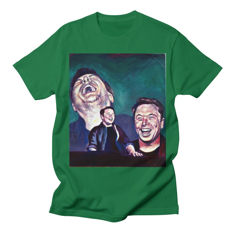 elon4 Women's Regular Unisex T-Shirt by paintings by Seamus Wray