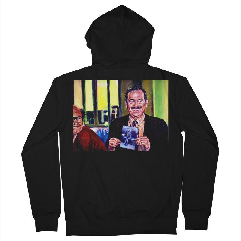 It's Art! Women's French Terry Zip-Up Hoody by paintings by Seamus Wray
