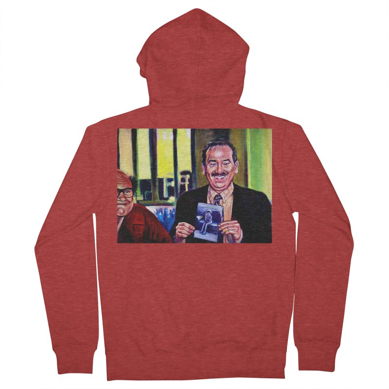 It's Art! Men's French Terry Zip-Up Hoody by paintings by Seamus Wray