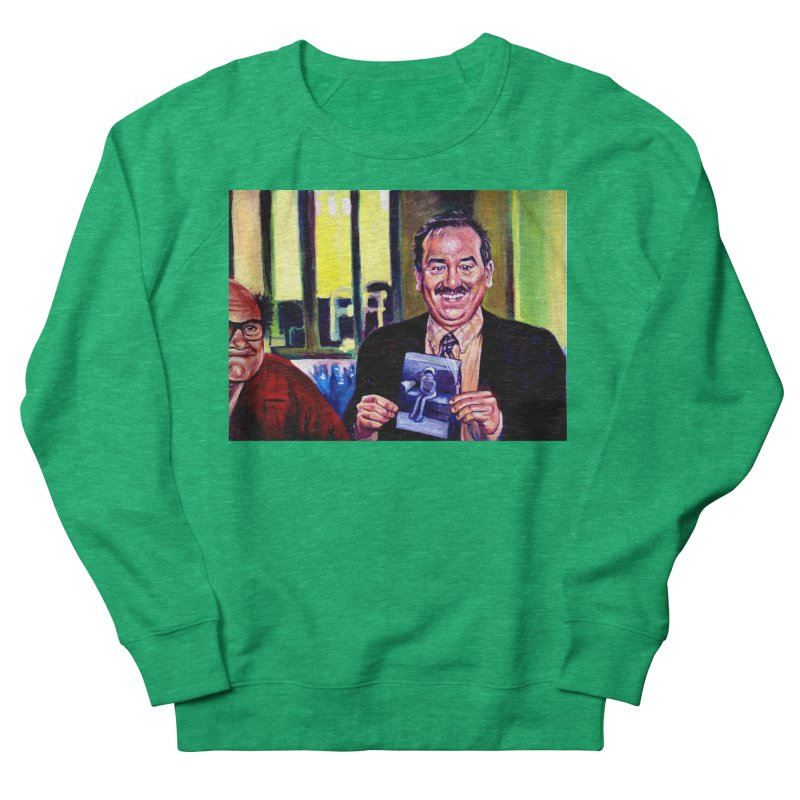 It's Art! Women's French Terry Sweatshirt by paintings by Seamus Wray