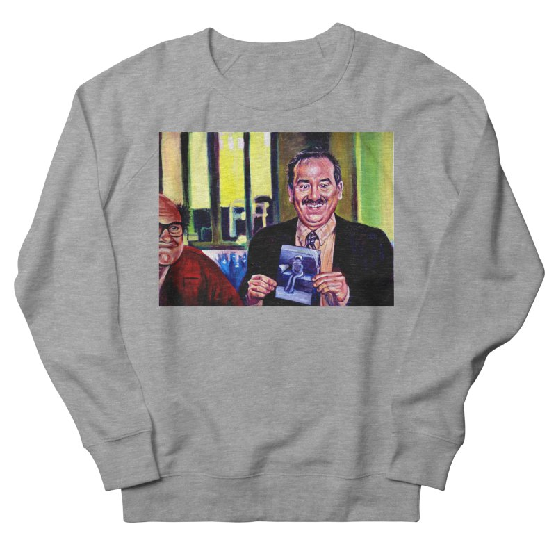 It's Art! Men's French Terry Sweatshirt by paintings by Seamus Wray