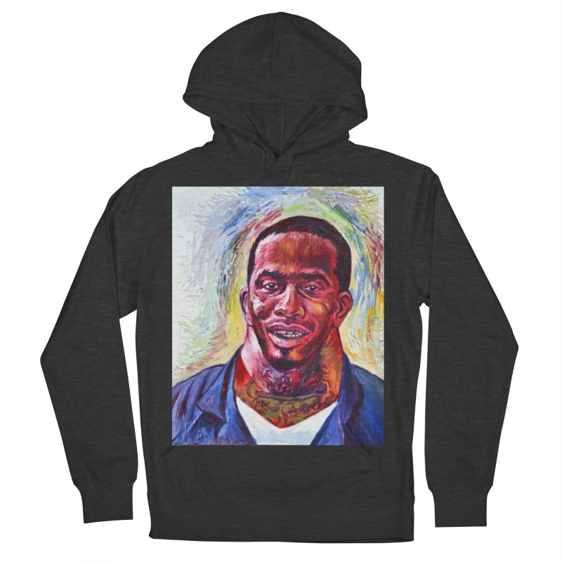 wide Women's French Terry Pullover Hoody by paintings by Seamus Wray