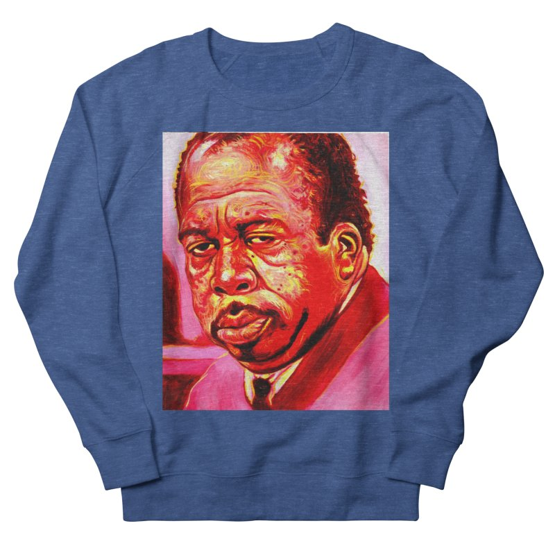 stanley Men's French Terry Sweatshirt by paintings by Seamus Wray