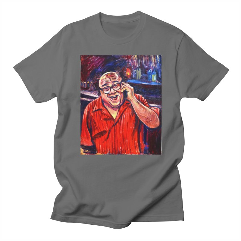 crawling back Men's T-Shirt by paintings by Seamus Wray