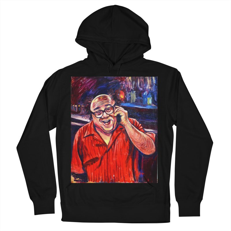 crawling back Women's French Terry Pullover Hoody by paintings by Seamus Wray