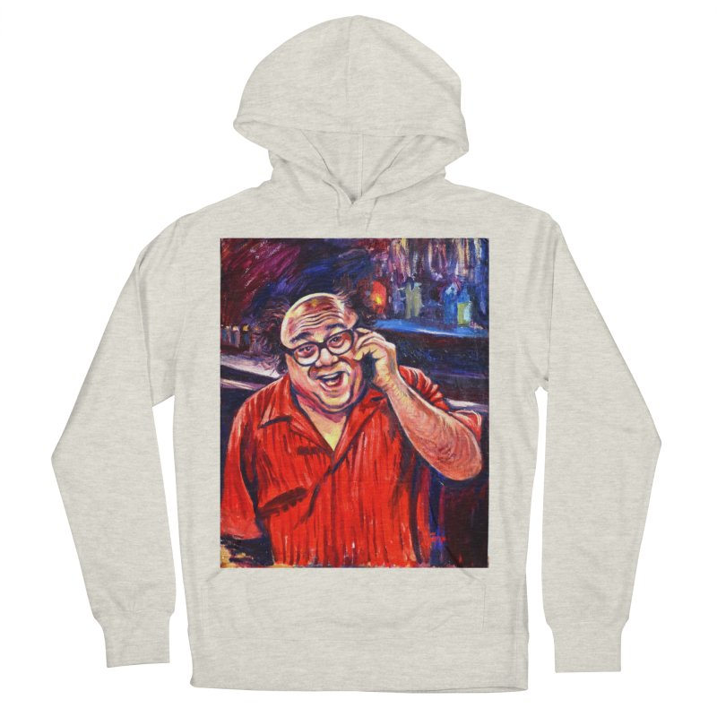 crawling back Men's French Terry Pullover Hoody by paintings by Seamus Wray