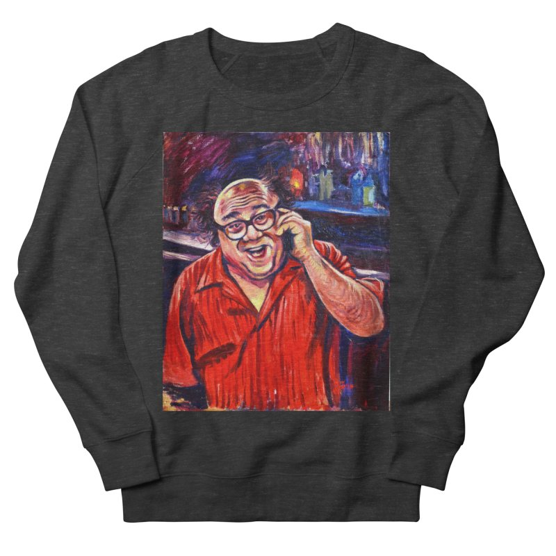 crawling back Men's French Terry Sweatshirt by paintings by Seamus Wray