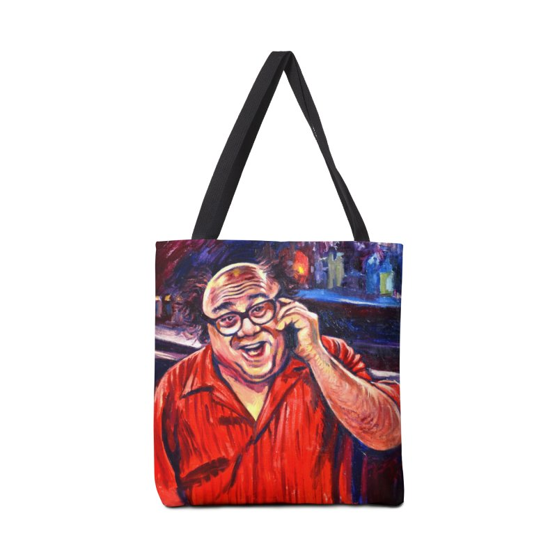 crawling back Accessories Tote Bag Bag by paintings by Seamus Wray