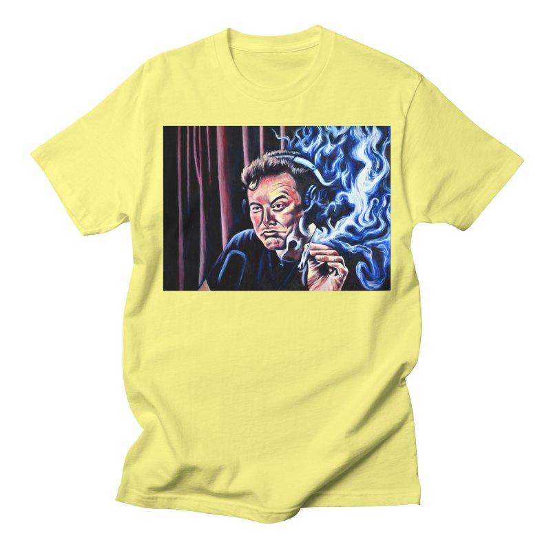 Elon5 Men's Regular T-Shirt by paintings by Seamus Wray