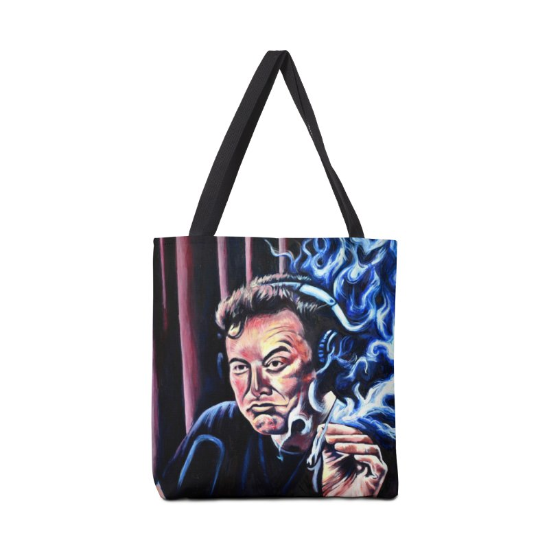 Elon5 Accessories Tote Bag Bag by paintings by Seamus Wray
