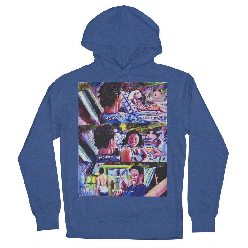 IASIPSP Women's French Terry Pullover Hoody by paintings by Seamus Wray