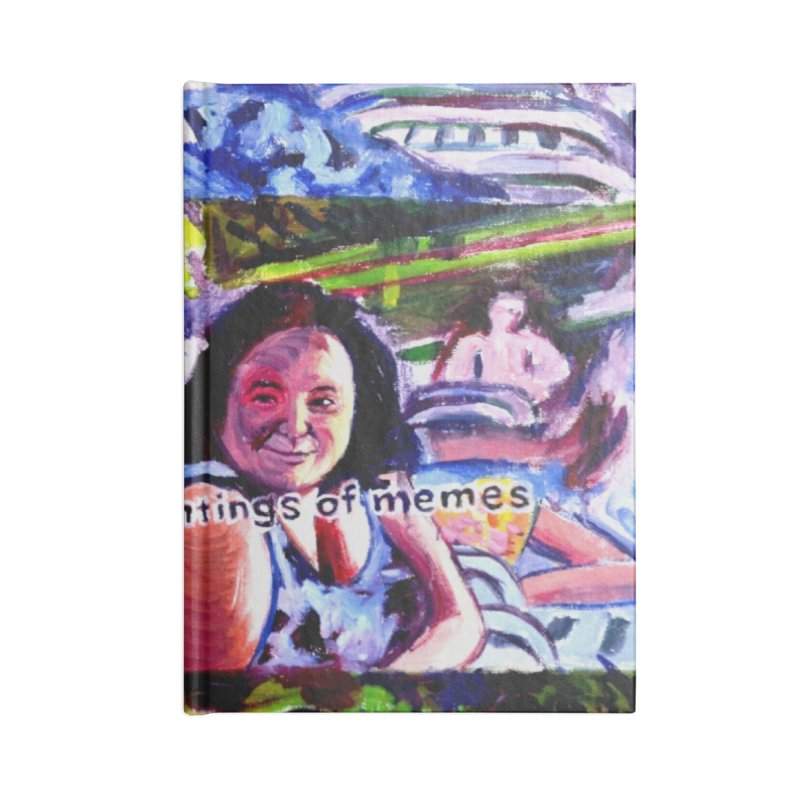 IASIPSP Accessories Blank Journal Notebook by paintings by Seamus Wray