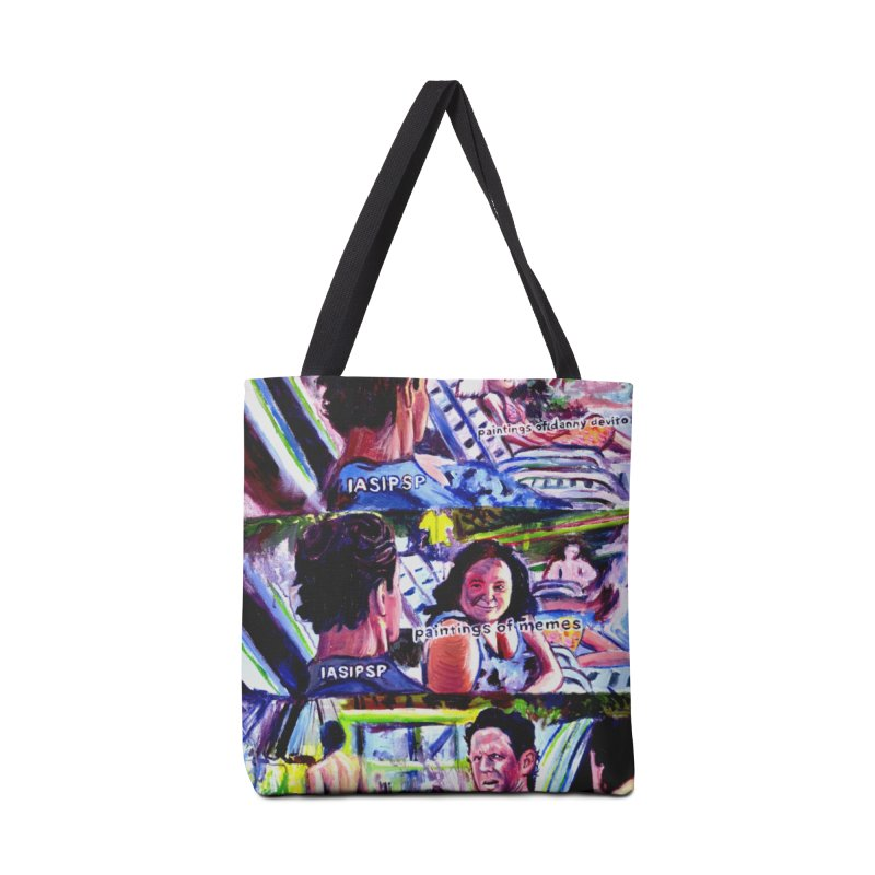 IASIPSP Accessories Tote Bag Bag by paintings by Seamus Wray