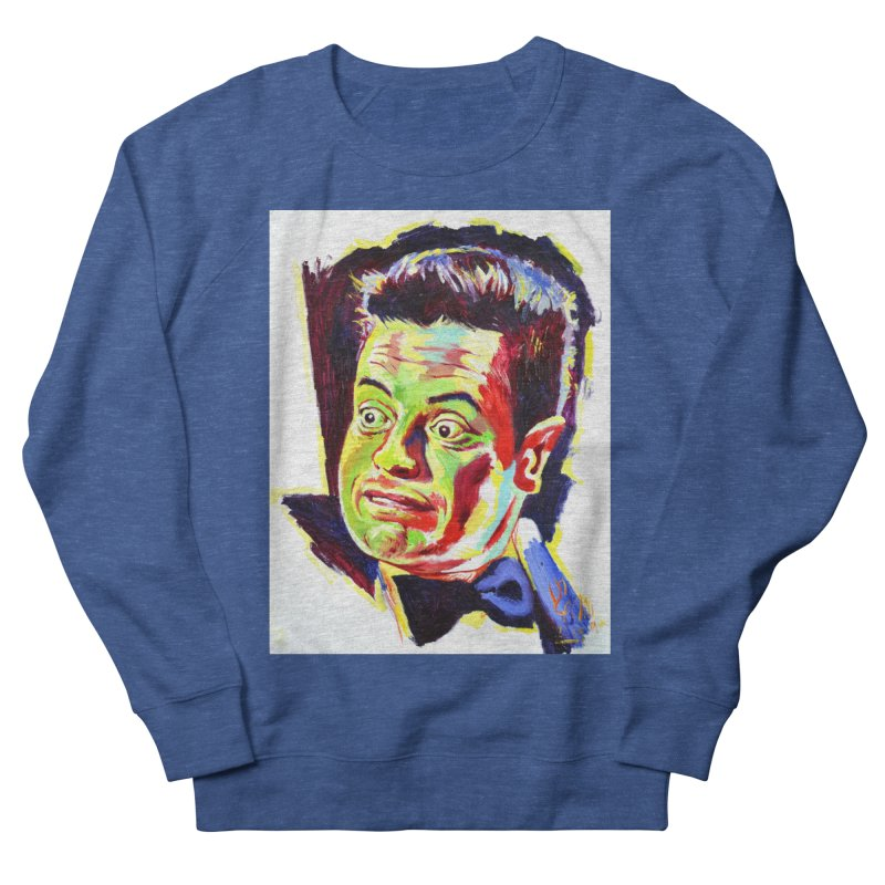 rami Men's French Terry Sweatshirt by paintings by Seamus Wray