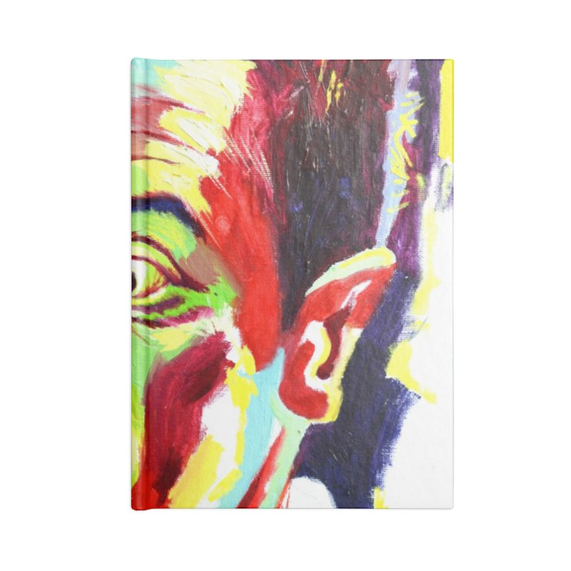 rami Accessories Blank Journal Notebook by paintings by Seamus Wray