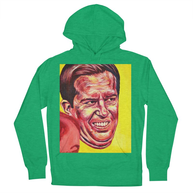 andy Men's French Terry Pullover Hoody by paintings by Seamus Wray