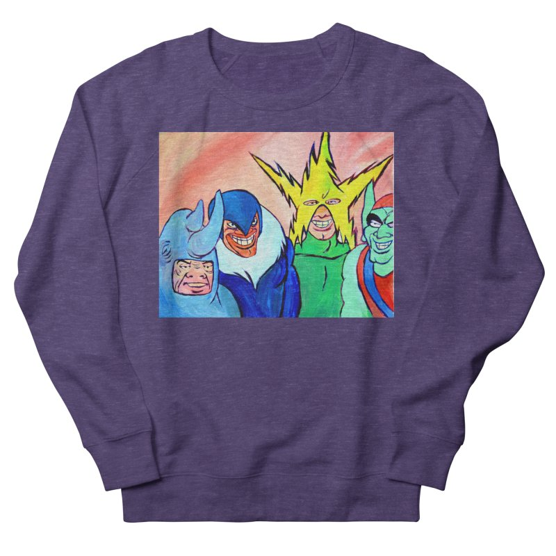 me and the boys Women's French Terry Sweatshirt by paintings by Seamus Wray