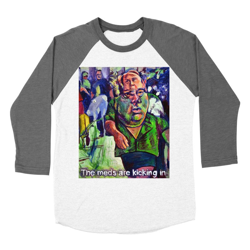 meds are kicking in Women's Longsleeve T-Shirt by paintings by Seamus Wray