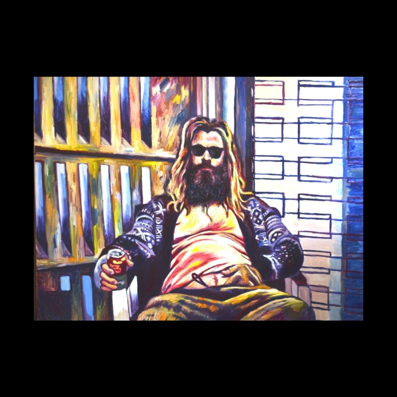 fat thor by paintings by Seamus Wray