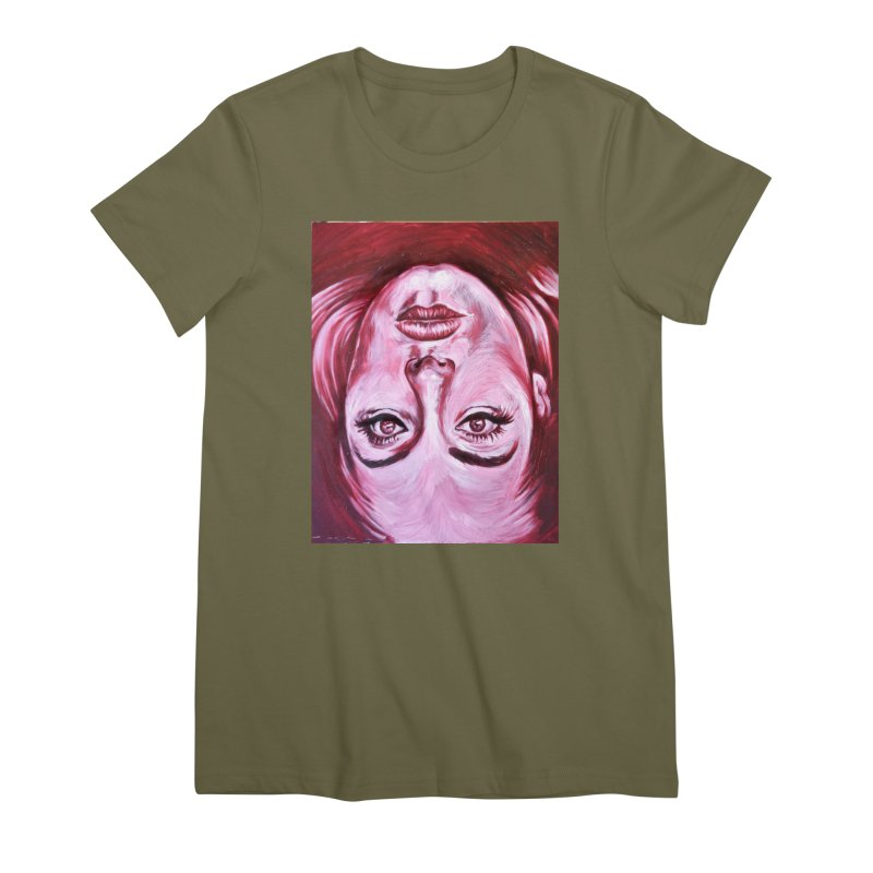 adele Women's Premium T-Shirt by paintings by Seamus Wray