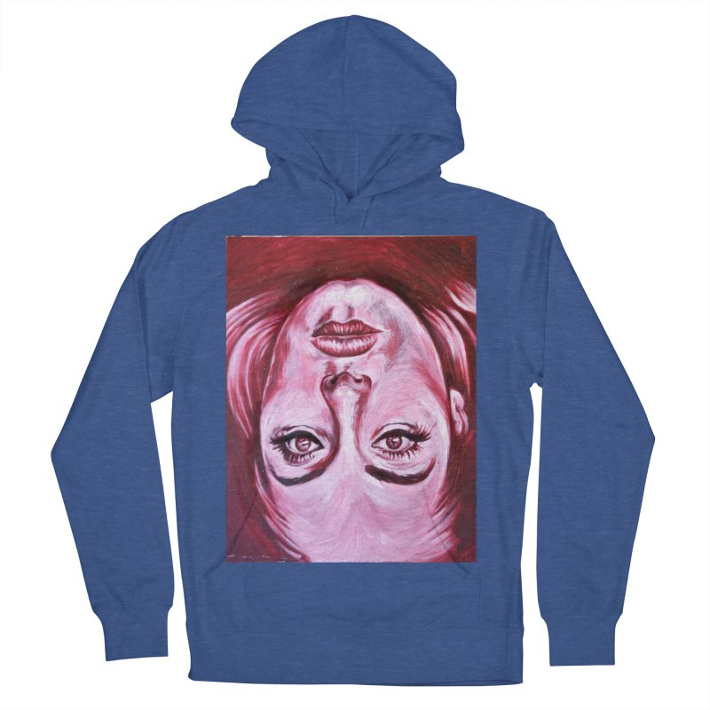 adele Women's French Terry Pullover Hoody by paintings by Seamus Wray