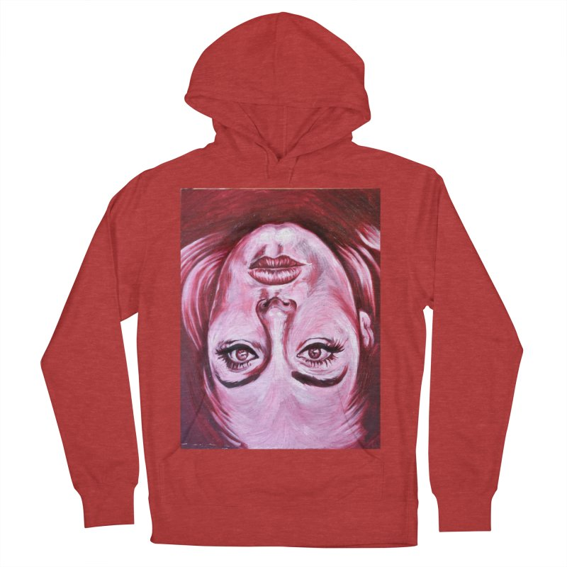 adele Men's French Terry Pullover Hoody by paintings by Seamus Wray