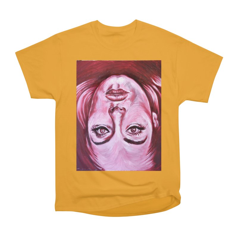 adele Men's Heavyweight T-Shirt by paintings by Seamus Wray