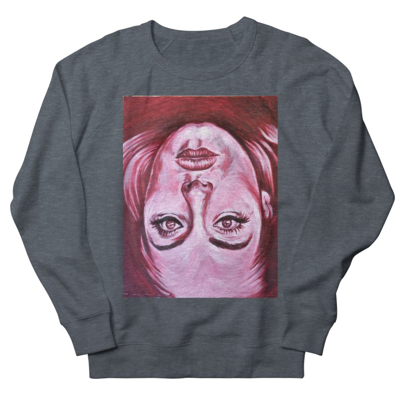 adele Men's French Terry Sweatshirt by paintings by Seamus Wray
