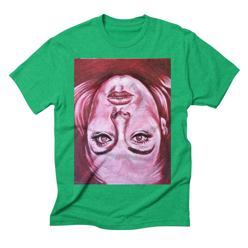adele Men's Triblend T-Shirt by paintings by Seamus Wray