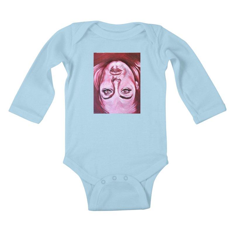 adele Kids Baby Longsleeve Bodysuit by paintings by Seamus Wray