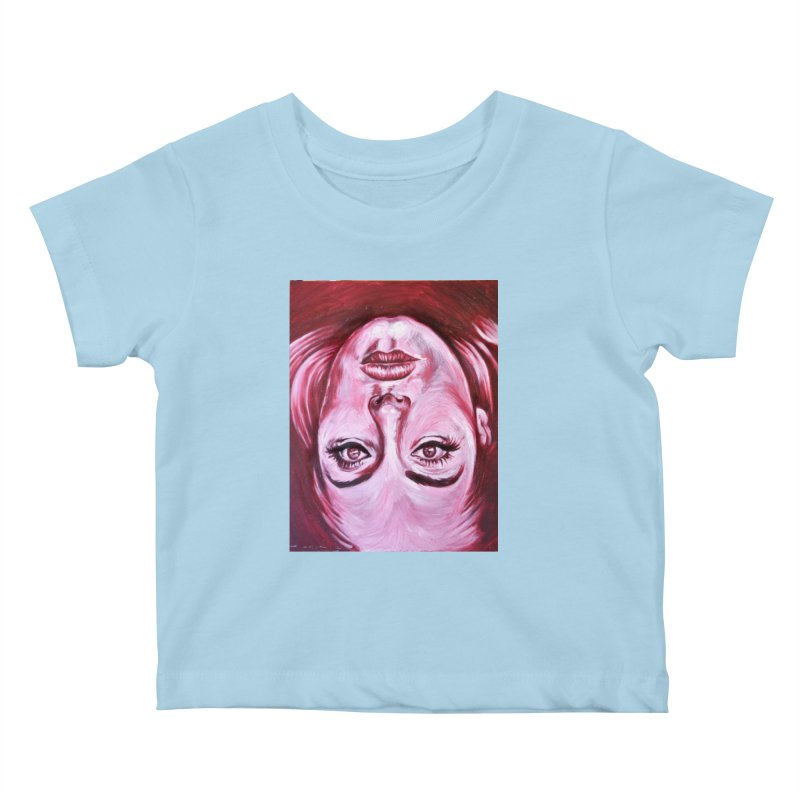 adele Kids Baby T-Shirt by paintings by Seamus Wray