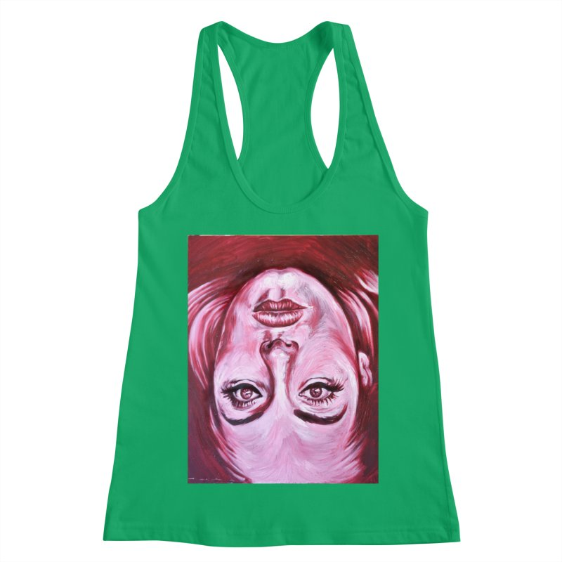 adele Women's Tank by paintings by Seamus Wray
