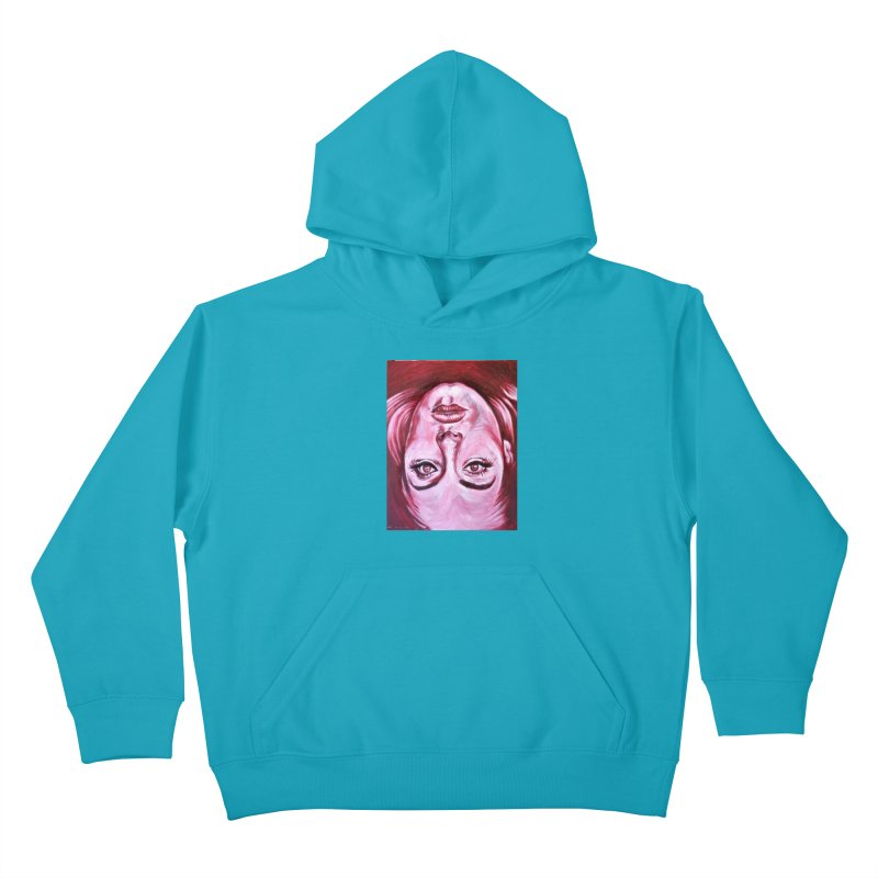 adele Kids Pullover Hoody by paintings by Seamus Wray