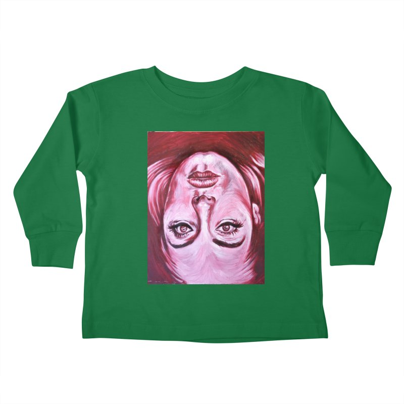 adele Kids Toddler Longsleeve T-Shirt by paintings by Seamus Wray