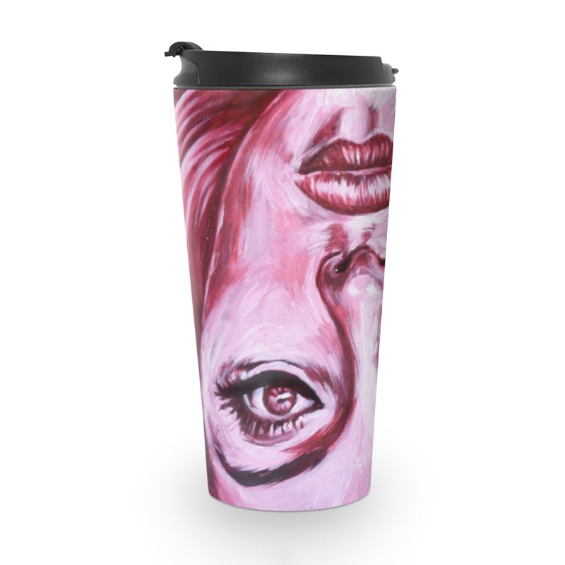 adele Accessories Travel Mug by paintings by Seamus Wray