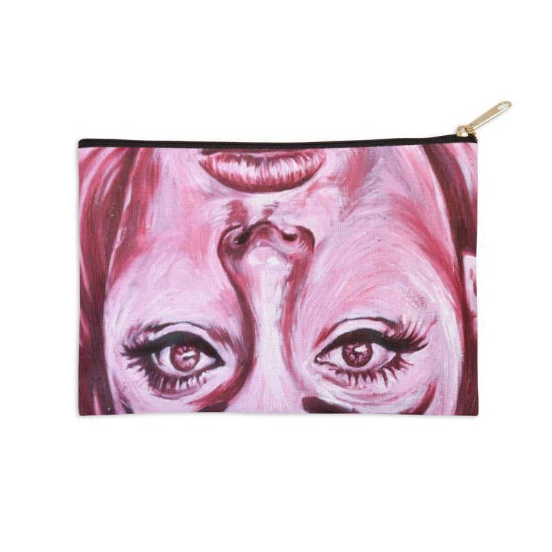 adele Accessories Zip Pouch by paintings by Seamus Wray