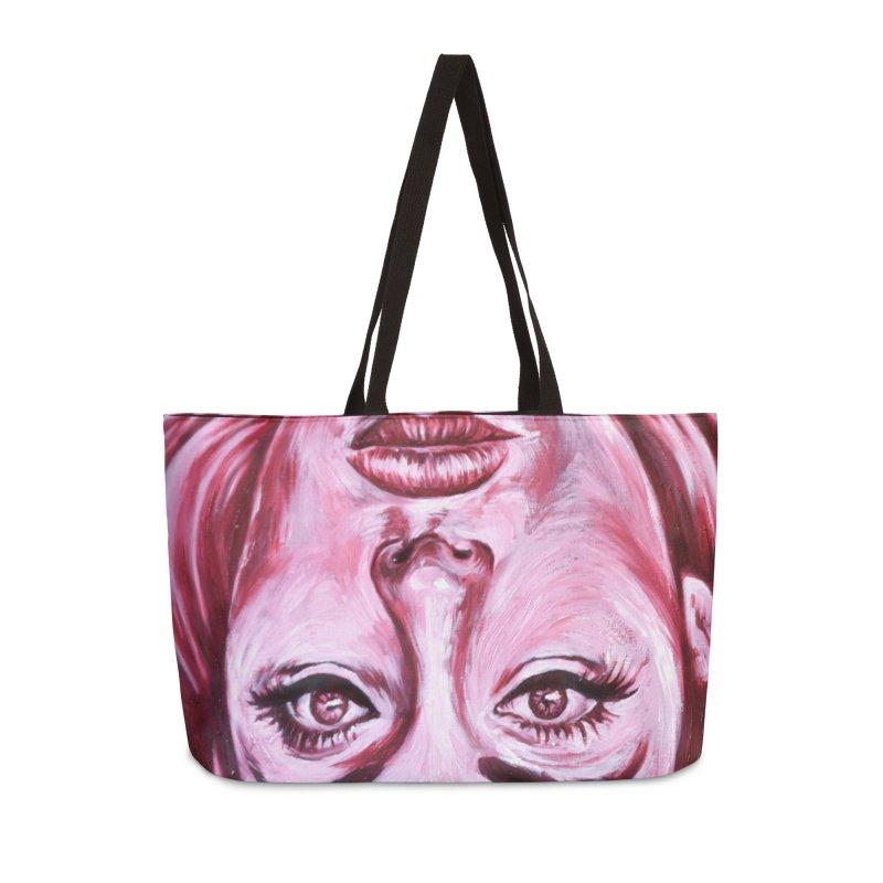 adele Accessories Weekender Bag Bag by paintings by Seamus Wray