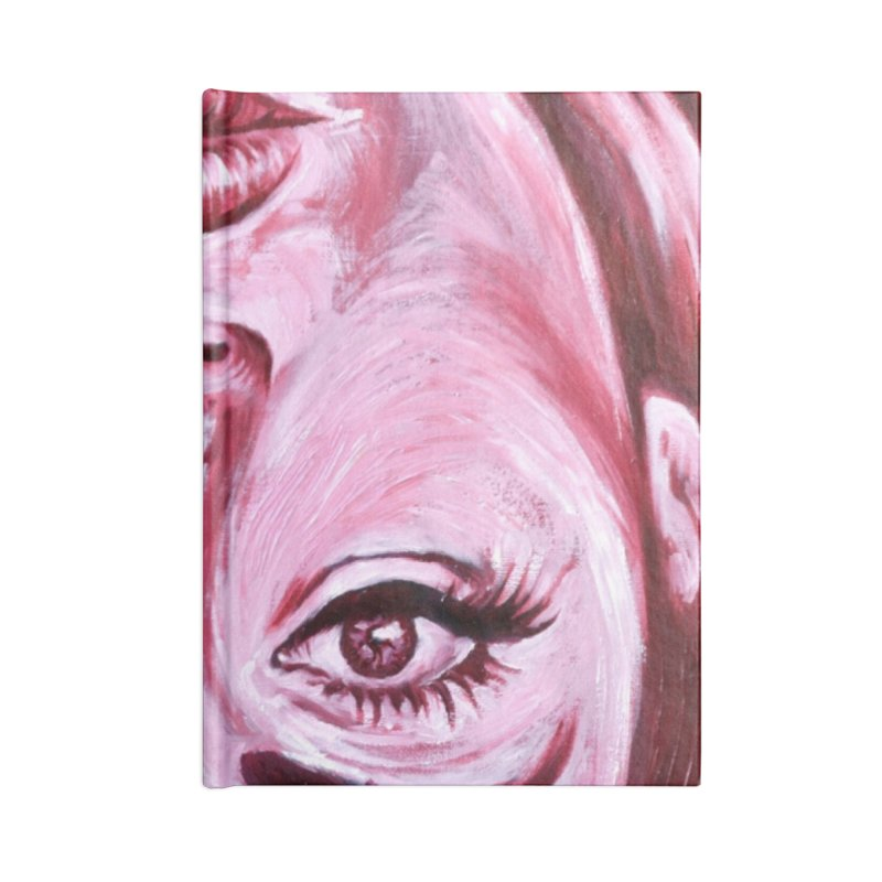adele Accessories Blank Journal Notebook by paintings by Seamus Wray