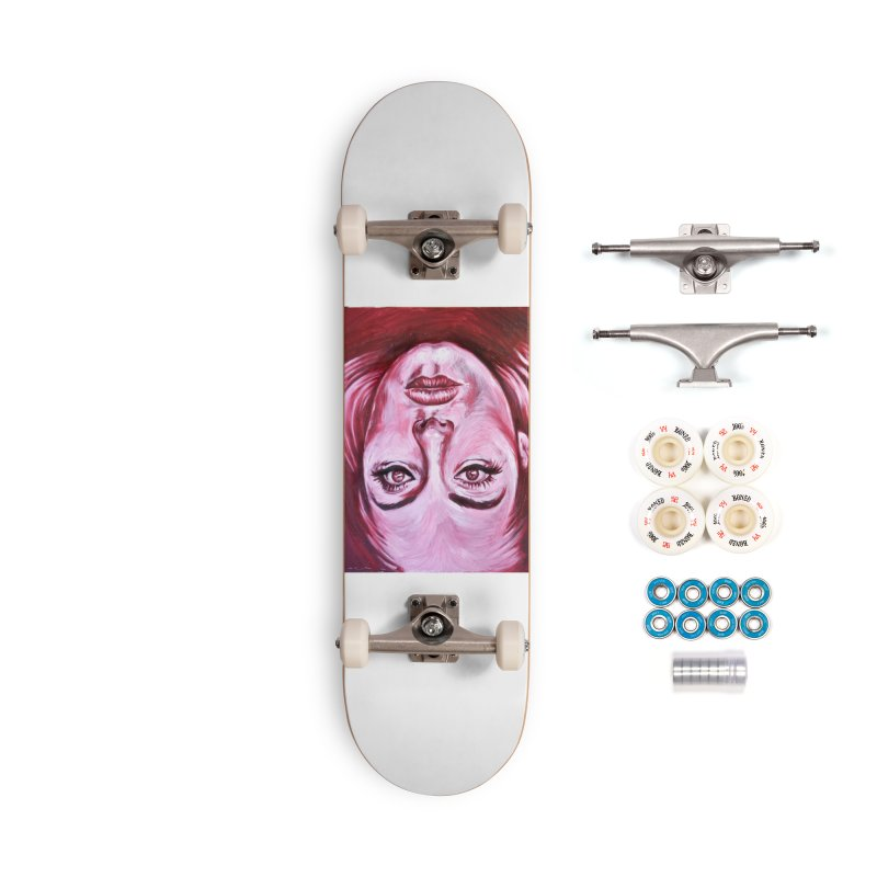 adele Accessories Complete - Premium Skateboard by paintings by Seamus Wray