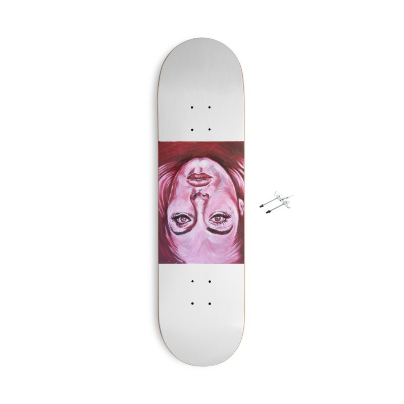 adele Accessories Skateboard by paintings by Seamus Wray