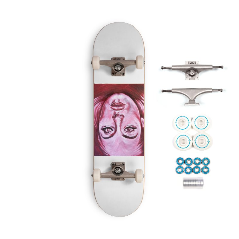 adele Accessories Complete - Basic Skateboard by paintings by Seamus Wray
