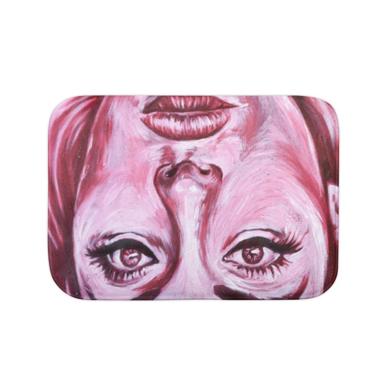 adele Home Bath Mat by paintings by Seamus Wray