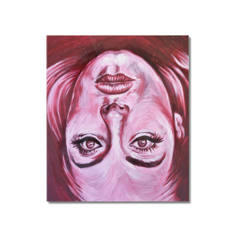 adele Home Mounted Acrylic Print by paintings by Seamus Wray
