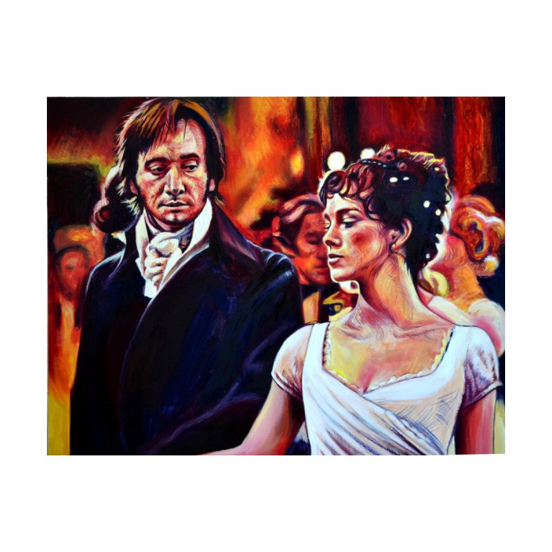 darcy-bennet by paintings by Seamus Wray