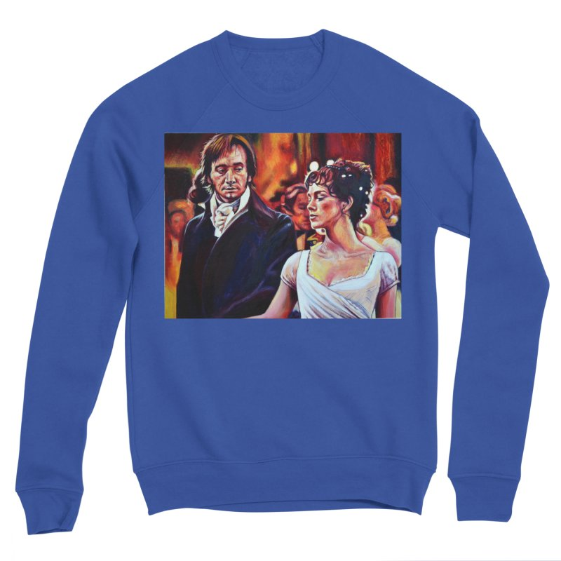 darcy-bennet Men's Sweatshirt by paintings by Seamus Wray