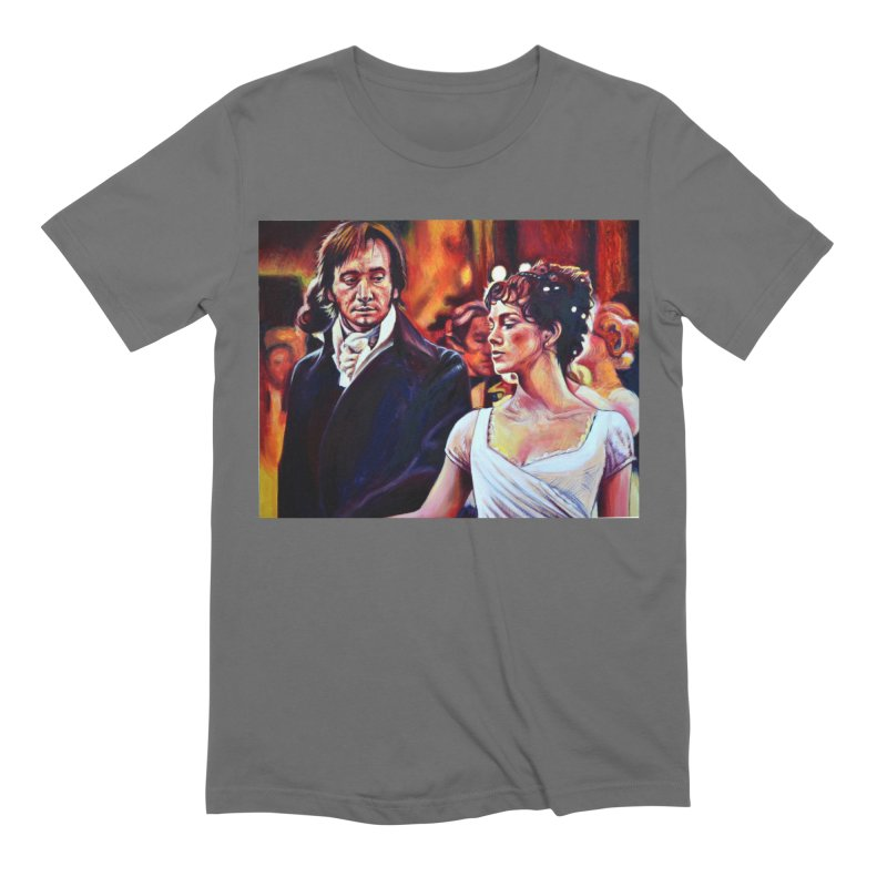 darcy-bennet Men's T-Shirt by paintings by Seamus Wray